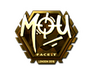 Skin Sticker | mou (Gold) | London 2018