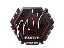 Sticker | mir | London 2018