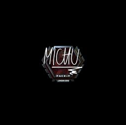 Sticker | MICHU (Foil) | London 2018