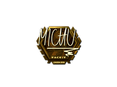 Skin Sticker | MICHU (Gold) | London 2018