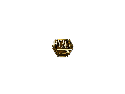 Sticker | MICHU (Gold) | London 2018
