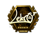 Skin Sticker | Lekr0 (Gold) | London 2018