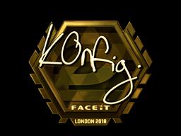 k0nfig | London 2018
