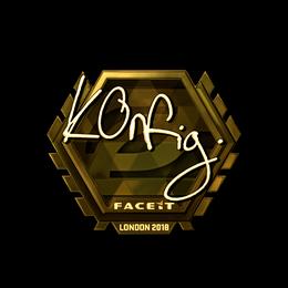 k0nfig (Gold) | London 2018