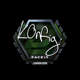 k0nfig (Foil) | London 2018