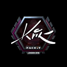 Kvik (Foil)   London 2018