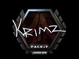 KRIMZ | London 2018