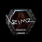 Sticker | KRIMZ (Foil) | London 2018