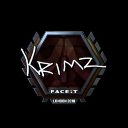 KRIMZ (Foil)   London 2018