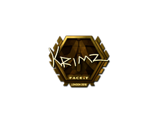 Skin Sticker | KRIMZ (Gold) | London 2018