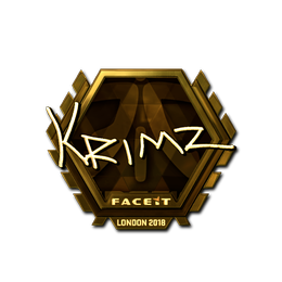 KRIMZ (Gold) | London 2018