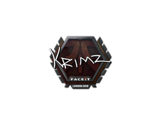Skin Sticker | KRIMZ | London 2018
