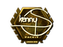 Skin Sticker | kennyS (Gold) | London 2018