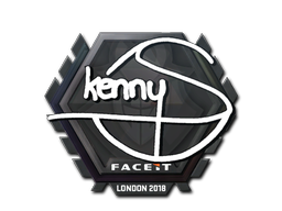 Sticker | kennyS | London 2018