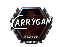 Sticker | karrigan (Foil) | London 2018