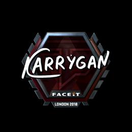 karrigan (Foil)   London 2018