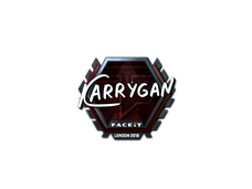 Skin Sticker | karrigan (Foil) | London 2018