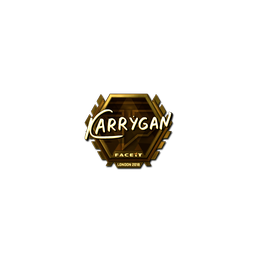 Sticker | karrigan (Gold) | London 2018