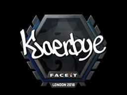 Kjaerbye | London 2018