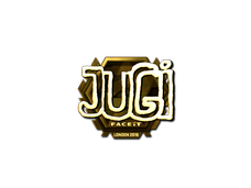Skin Sticker | JUGi (Gold) | London 2018