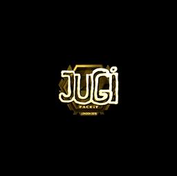 Sticker | JUGi (Gold) | London 2018