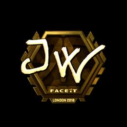 JW (Gold) | London 2018