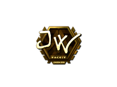 Skin Sticker | JW (Gold) | London 2018