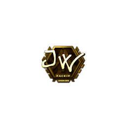 Sticker | JW (Gold) | London 2018