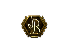 Skin Sticker | jR (Gold) | London 2018