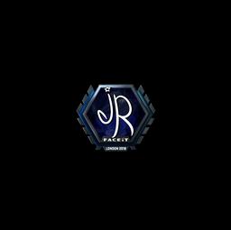 Sticker | jR (Foil) | London 2018