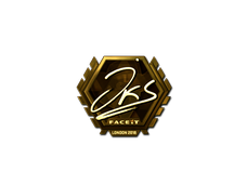Skin Sticker | jks (Gold) | London 2018