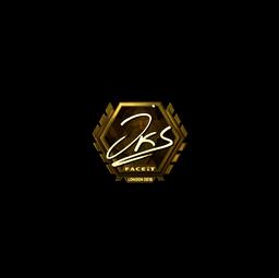 Sticker | jks (Gold) | London 2018