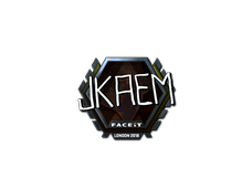Skin Sticker | jkaem (Foil) | London 2018