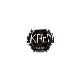 Sticker | jkaem (Foil) | London 2018
