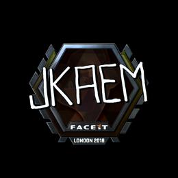 jkaem (Foil)   London 2018