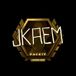 jkaem (Gold) | London 2018