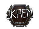 Sticker | jkaem | London 2018