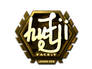 Skin Sticker | hutji (Gold) | London 2018