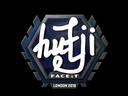 Sticker   hutji   London 2018