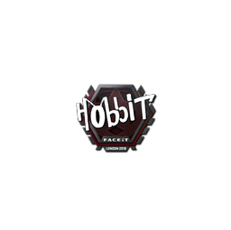 Sticker | Hobbit | London 2018