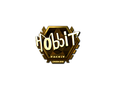 Skin Sticker | Hobbit (Gold) | London 2018