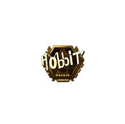 Sticker | Hobbit (Gold) | London 2018