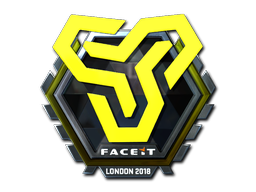 Sticker | Space Soldiers (Foil) | London 2018
