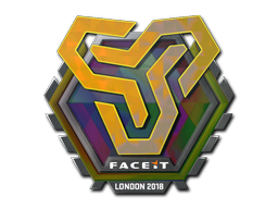 Sticker | Space Soldiers (Holo) | London 2018