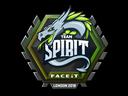 Sticker | Team Spirit | London 2018
