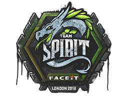 Sealed Graffiti | Team Spirit | London 2018
