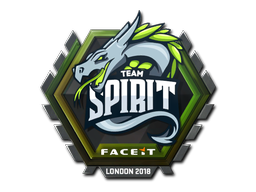 Sticker | Team Spirit | London 2018