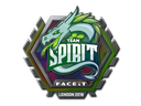 Sticker | Team Spirit (Holo) | London 2018