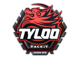 Sticker | Tyloo (Foil) | London 2018