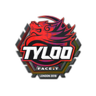 Sticker | Tyloo (Holo) | London 2018